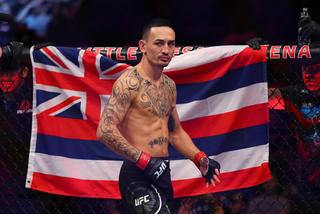 UFC fighter Max Holloway before his fight against Jose Aldo at UFC 218
