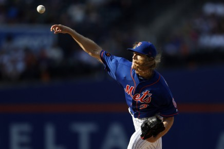 Athletics call Mets about Wheeler,Syndergaard