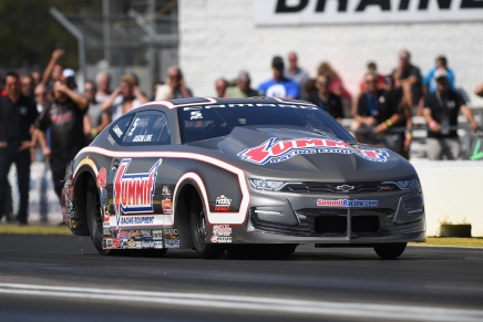 Line is the 2019 No. 1 qualifier in Pro Stock at home track