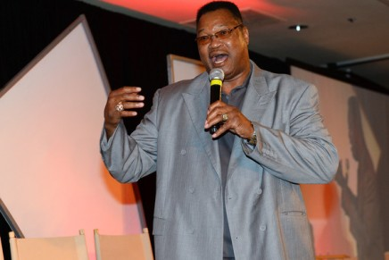 Larry Holmes to be Pedregon's guest at The Grove in Sept.