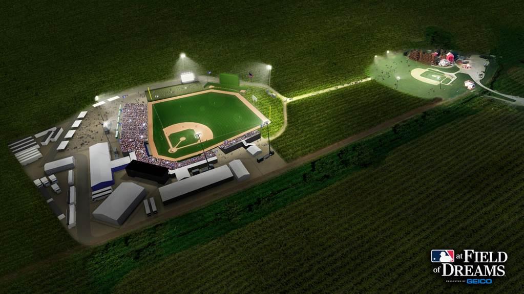 MLB at Field of Dreams Image