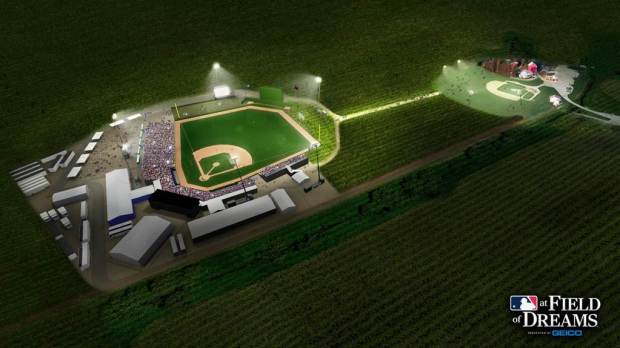 MLB at Field of Dreams Image