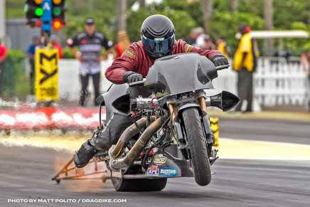Top Fuel Harley rider Mike Scott retires