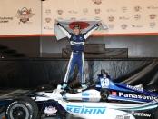 IndyCar driver Takuma Sato wins the Bommarito Automotive Group 500