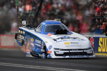 Legend John Force claims fifth Indy win