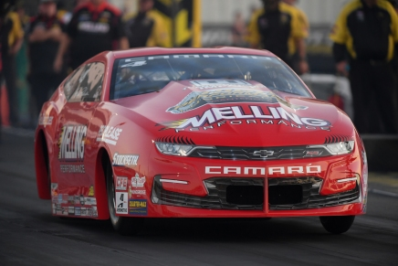 Enders leads Pro Stock on Friday near 2019 St. Louis event