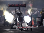 Capco Contractors Top Fuel Dragster pilot Billy Torrence is the provisional leader 2019 AAA Insurance NHRA Midwest Nationals