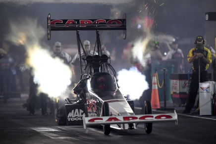 Father Torrence takes provisional Top Fuel lead near St. Louis