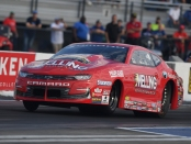 Melling Performance/Elite Performance Pro Stock driver Erica Enders is the No. 1 qualifier at the AAA Insurance NHRA Midwest Nationals