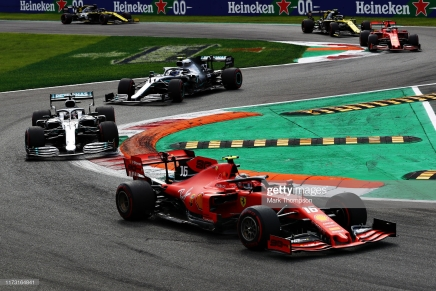 Leclerc wins second straight Formula One, as Ferrari wins in Italy