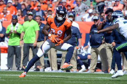 Jets acquired Demaryius Thomas in trade withPatriots