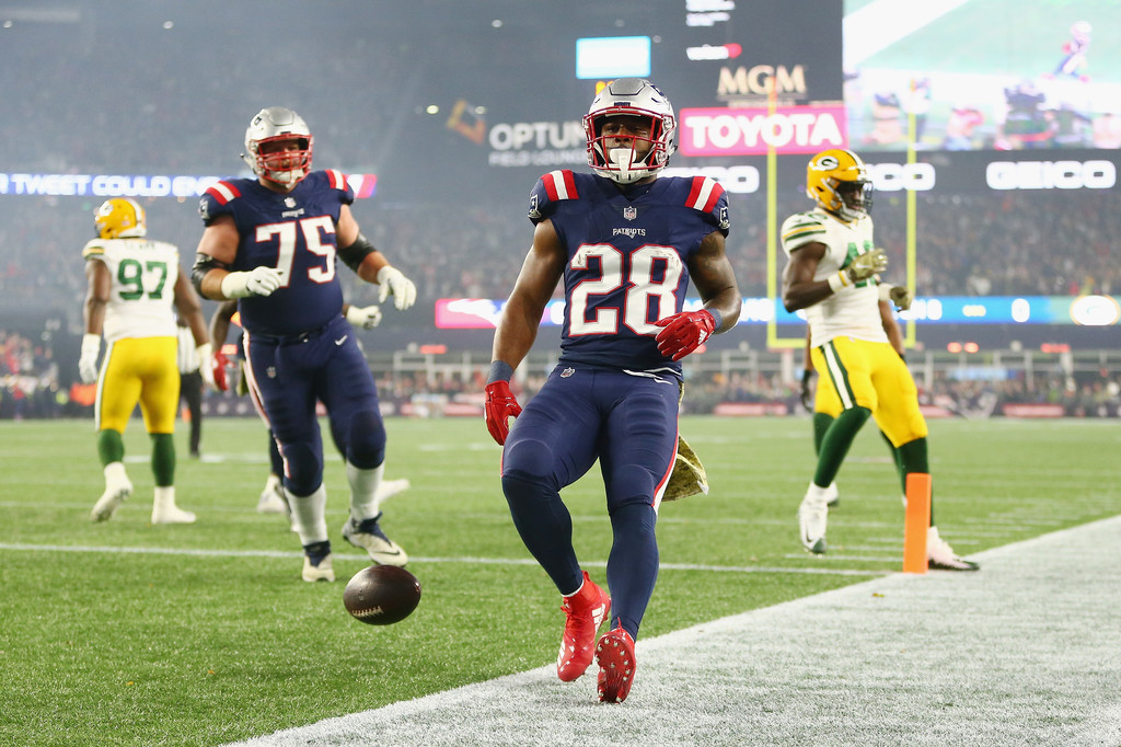 Patriots James White Misses 2019 Week 3 Vs Jets The Capital Sports Report