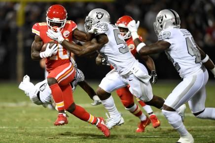 Chiefs, Hill agree to three-year extension through 2022season