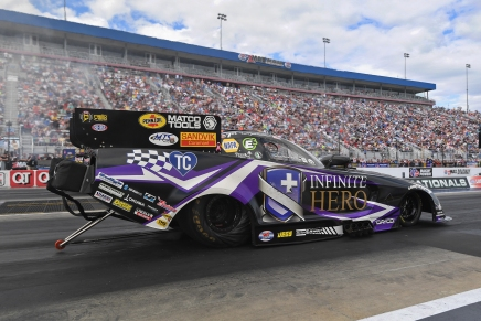 Beckman claims second No. 1 qualifier at 2019 NHRA Carolina Nationals