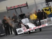 Capco Contractors Top Fuel Dragster pilot Steve Torrence racing on Sunday at the NHRA Carolina Nationals