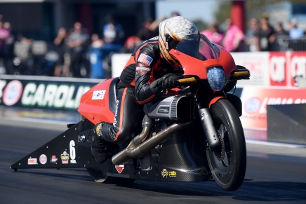 Hines win sixth Pro Stock Motorcycle Championship