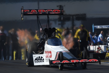 Torrence has won four straight races at zMAX Dragway