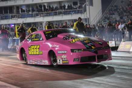 Coughlin Jr. leads Pro Stock provisional field at 2019 FallNationals