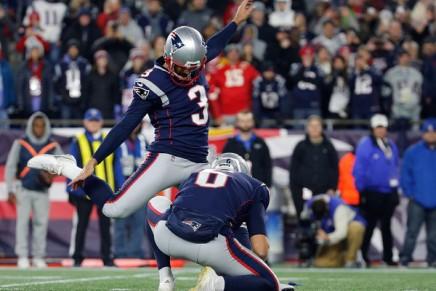 Patriots lose Gostkowski to season-ending hipinjury