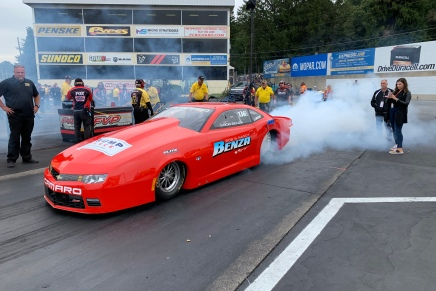 Benza returns to Pro Stock after sevenyears