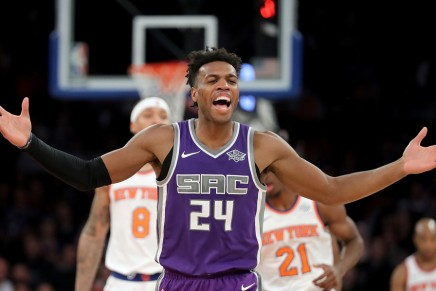 Kings re-sign Hield to four-year extension through 2023-24 season