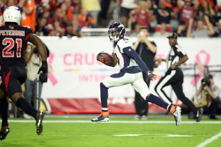 Broncos' Sanders may have escaped serious injury vs. Titans