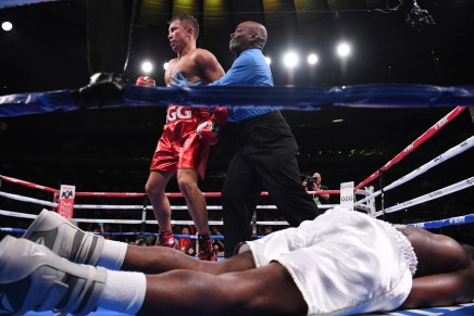 Golovkin defeats Derevyanchenko in questionable decision win