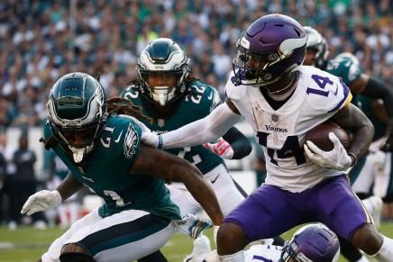 Vikings defeat lowly Redskins in their 2019 TNFmeeting