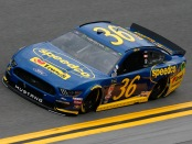 Front Row Motorsports driver Matt Tifft, driving the Speedco Ford, during practice for the Monster Energy NASCAR Cup Series 61st Annual Daytona 500
