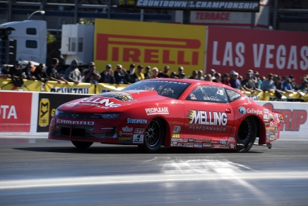 Enders leads 2019 Dodge Nationals Pro Stock qualifying on Friday