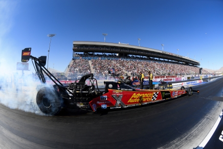 Brittany Force claims top spot at 60th annualWinterNationals