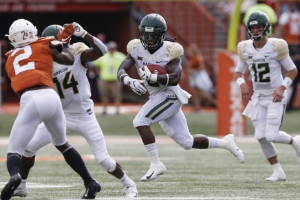 (12) Bears are 8-0 after 17-14 win overMountaineers