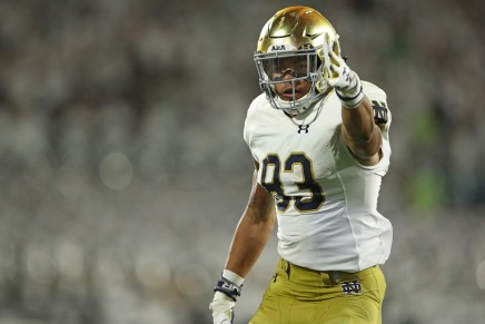 (16) Notre Dame escaped with one-point win over VirginiaTech
