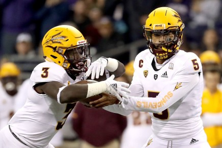 Sun Devils upsets (6) Ducks, 31-28, in Arizona