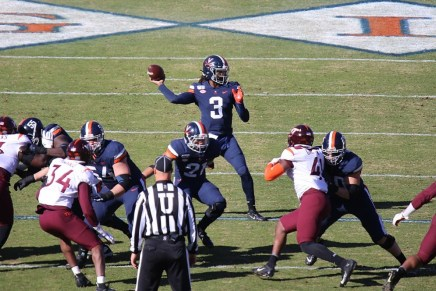 Perkins led Cavaliers over Hokies to end 15-yeardrought