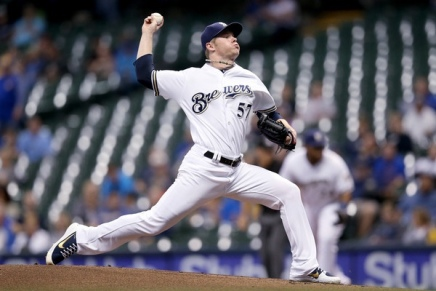 Blue Jays acquires Brewers' Chase Anderson