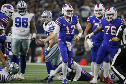Bills defeat Cowboys for first Thanksgiving Day win since1975