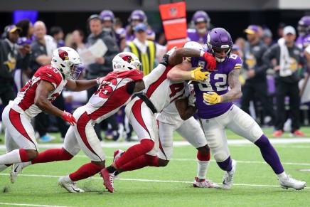 Vikings defeat Cowboys, 28-24, after stopping late fourthdown