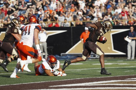Bellamy scores OT TD as WMU Broncos defeats Ohio