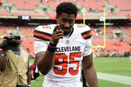 Browns' Garrett suspended indefinitely byleague