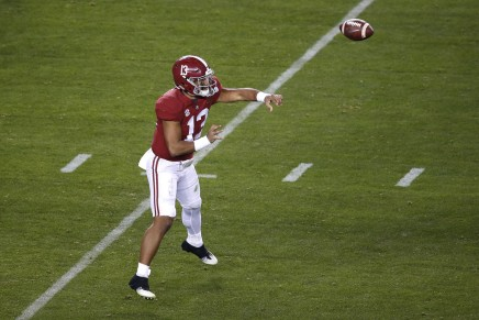 Crimson Tide lost star Tagovailoa for the 2019 season