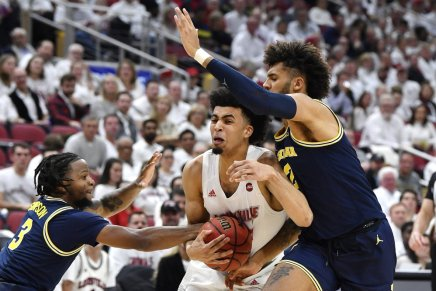 (1) Louisville is not done being the top team, defeats (5)Michigan