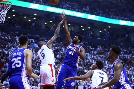 76ers big Embiid out indefinitely with torn finger ligament