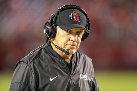 San Diego State football coach Rocky Long retires