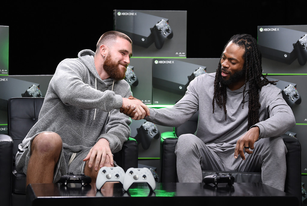 Kansas City Chiefs tight end Travis Kelce and San Francisco 49ers cornerback Richard Sherman join the annual Xbox Sessions: Game Before the Game