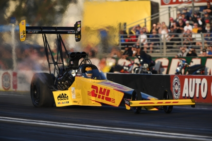 Langdon claims provisional No. 1 at Winternationals in first day back in Top Fuel