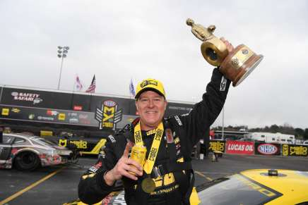 Coughlin Jr. wins Wally one day after his retirement tourannouncement