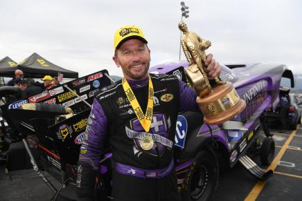 Beckman defeats Force to win 60th annual WinterNationals Wally