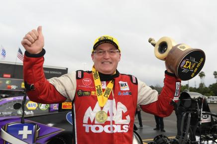 Kalitta wins third straight Winternationals at Pomona