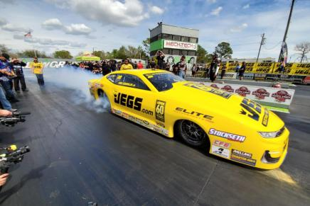 Pro Stock legend wins Inaugural World Doorslammer Nationals